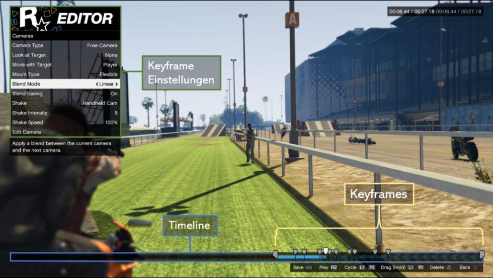 GTA Ben Hur Keyframe Animation in Rockstar Editor