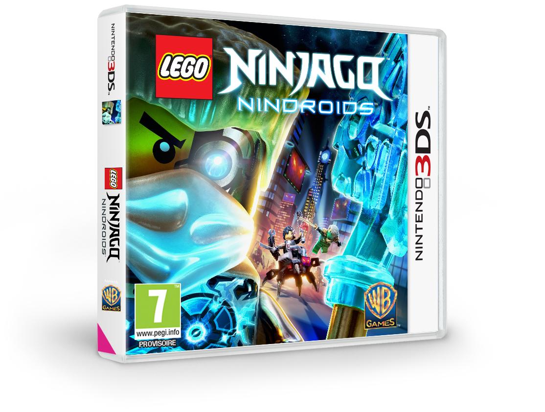 LEGO Ninjago Nindroids Annonc Sur Ps Vita Et 3DS