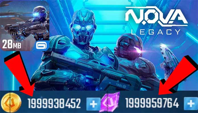 NOVA Legacy Mod Apk v5.7.1d (Unlimited Money) | Download