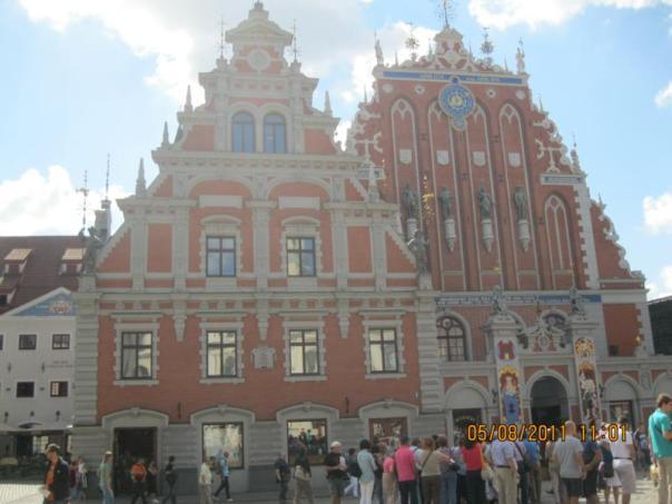 Casa de las Cabezas negras , en Riga .