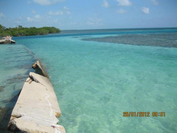 Disfrutando ... en Belize .