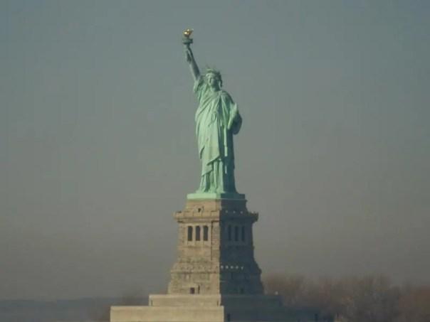 Estatua de la Libertad .