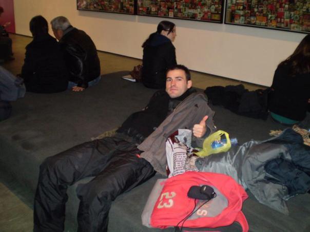 En el MOMA .