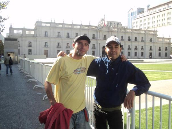 Con Jose , el maestro .