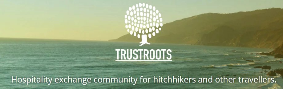 Trustroots. Sleep for free