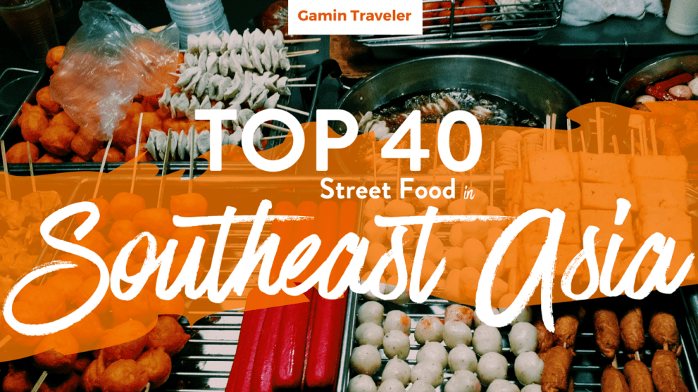 Street Food is very popular in South East Asia.