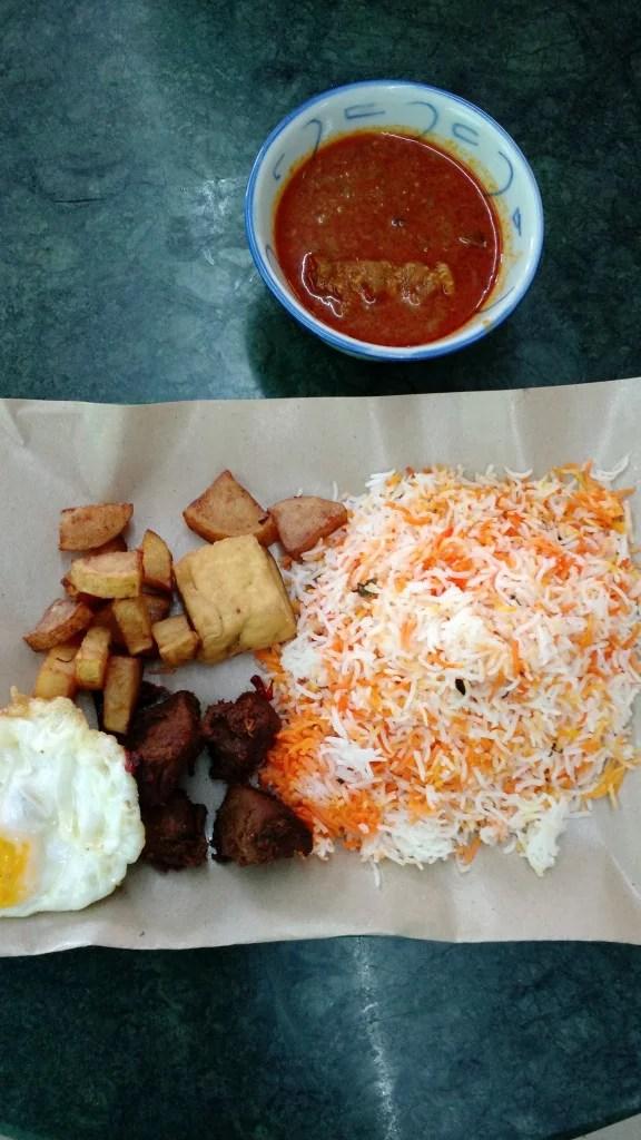 Travel Singapore, street food.