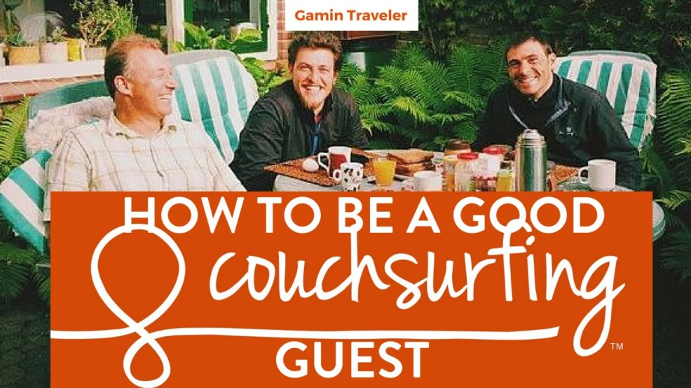 How to be a Good Couchsurfing Guest - Featured image