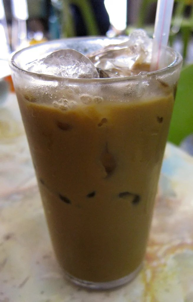 White Coffee, iced