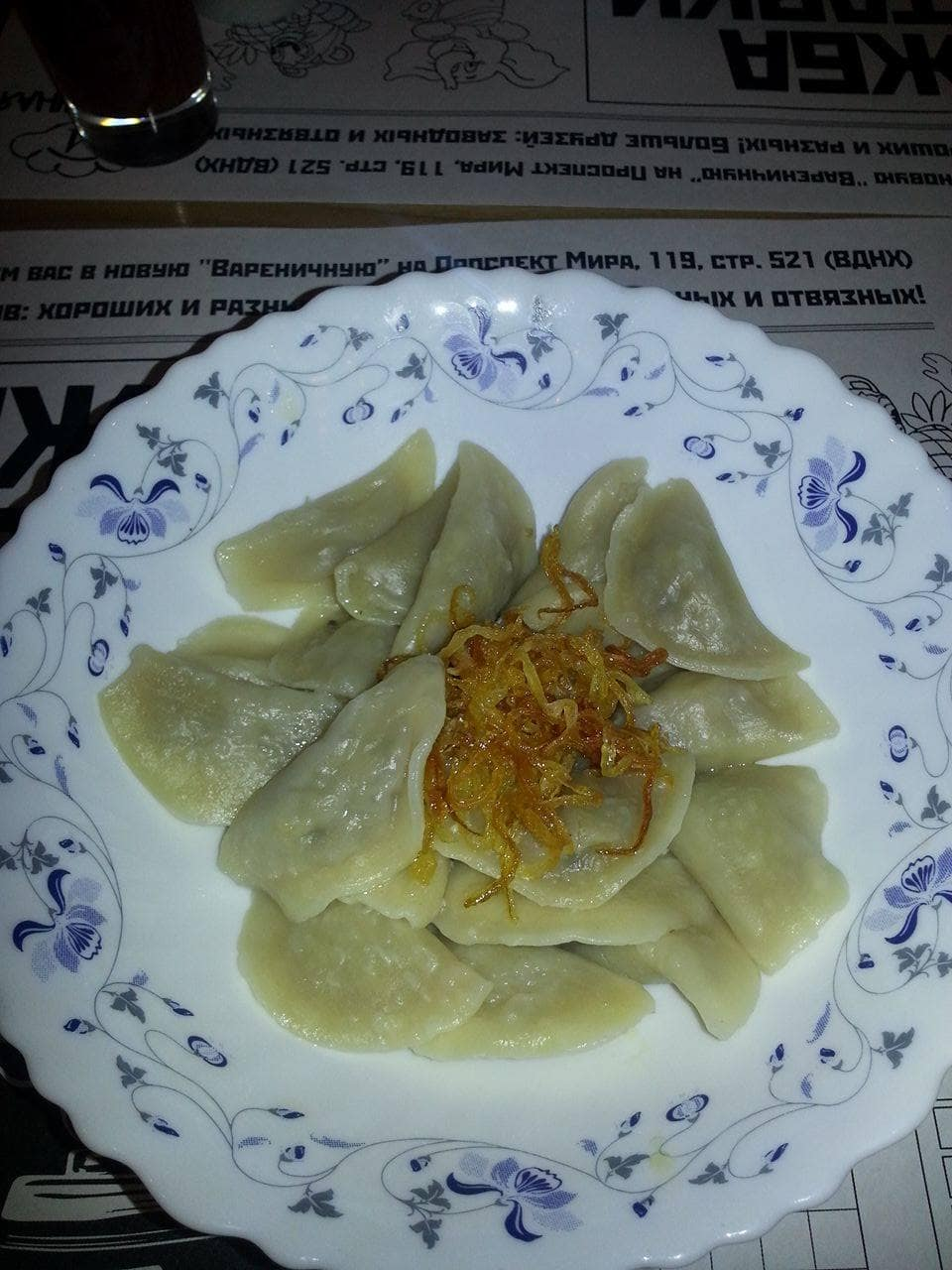 Pelmeni is typical to eat when travel Russia.