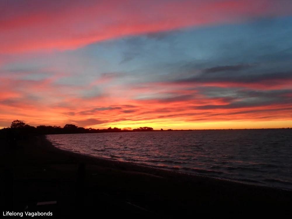 Sunset in Christchurch