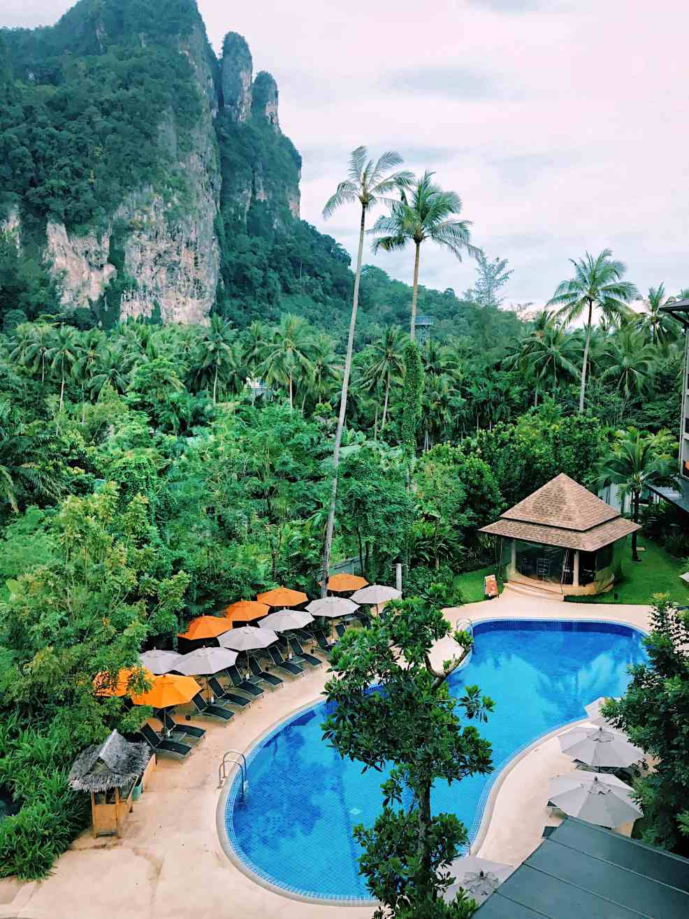 Views from the room, Thailand beaches