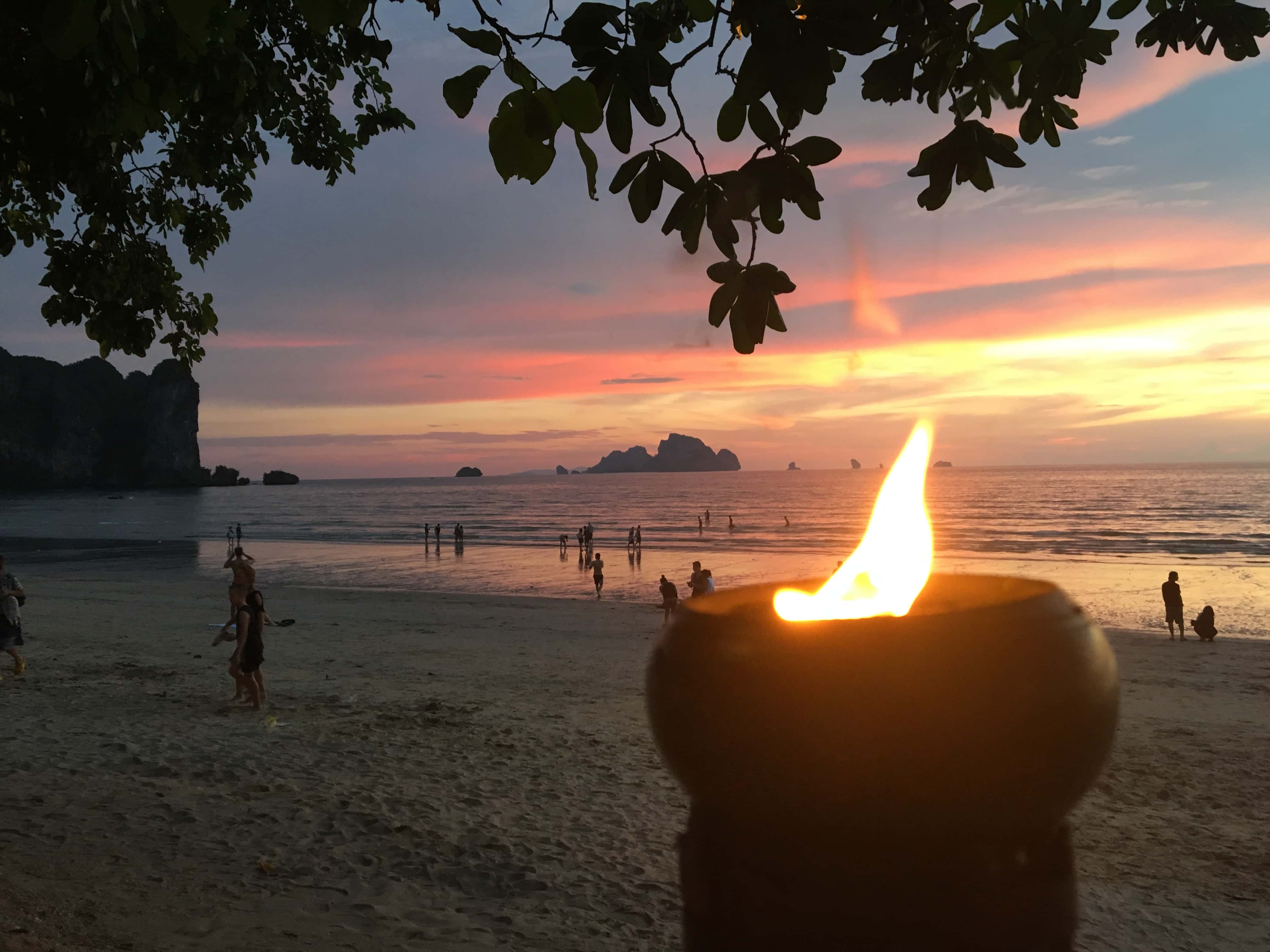 More sunsets at Thailand Beaches.