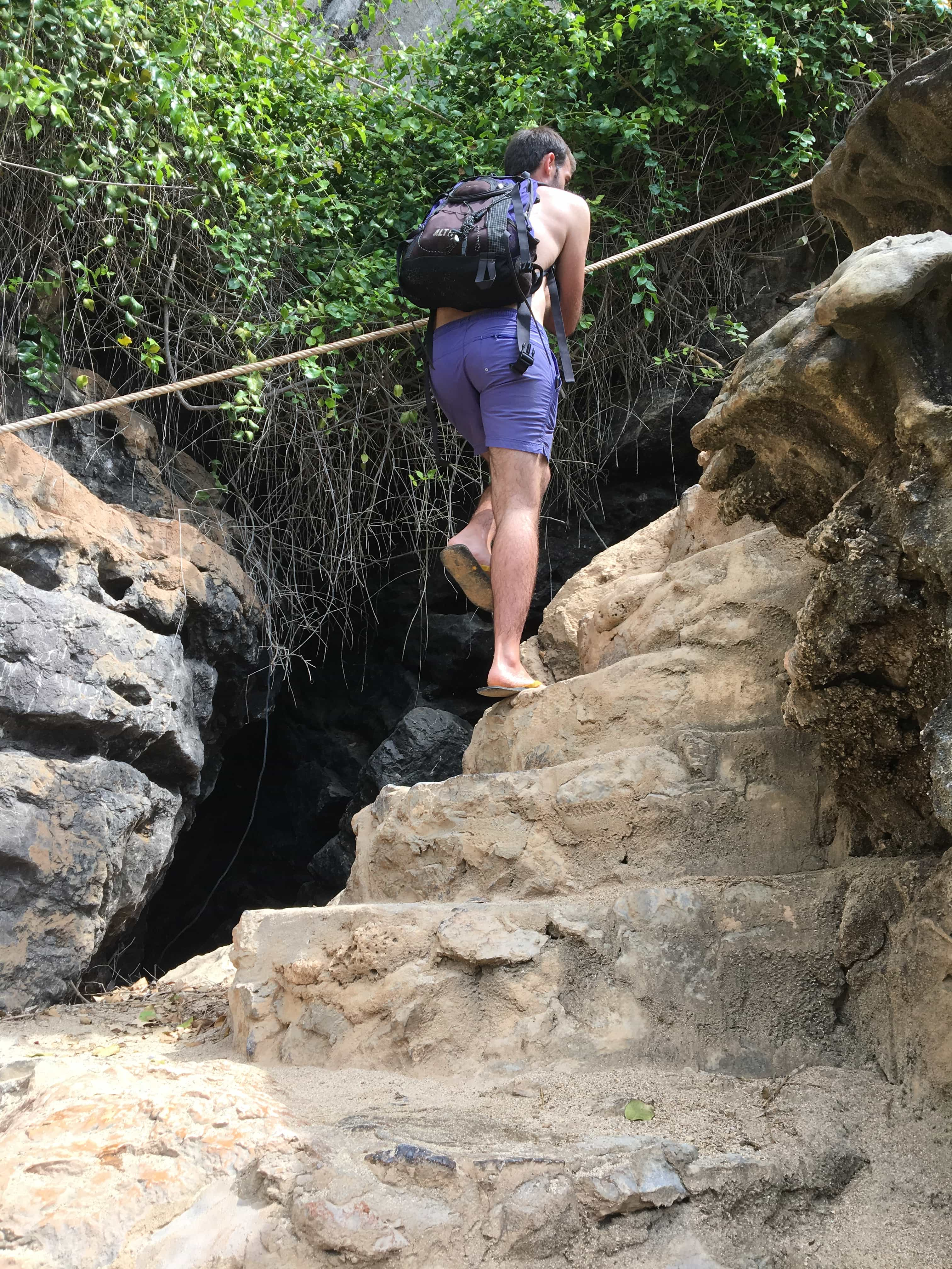 Climbing at Thailand beaches