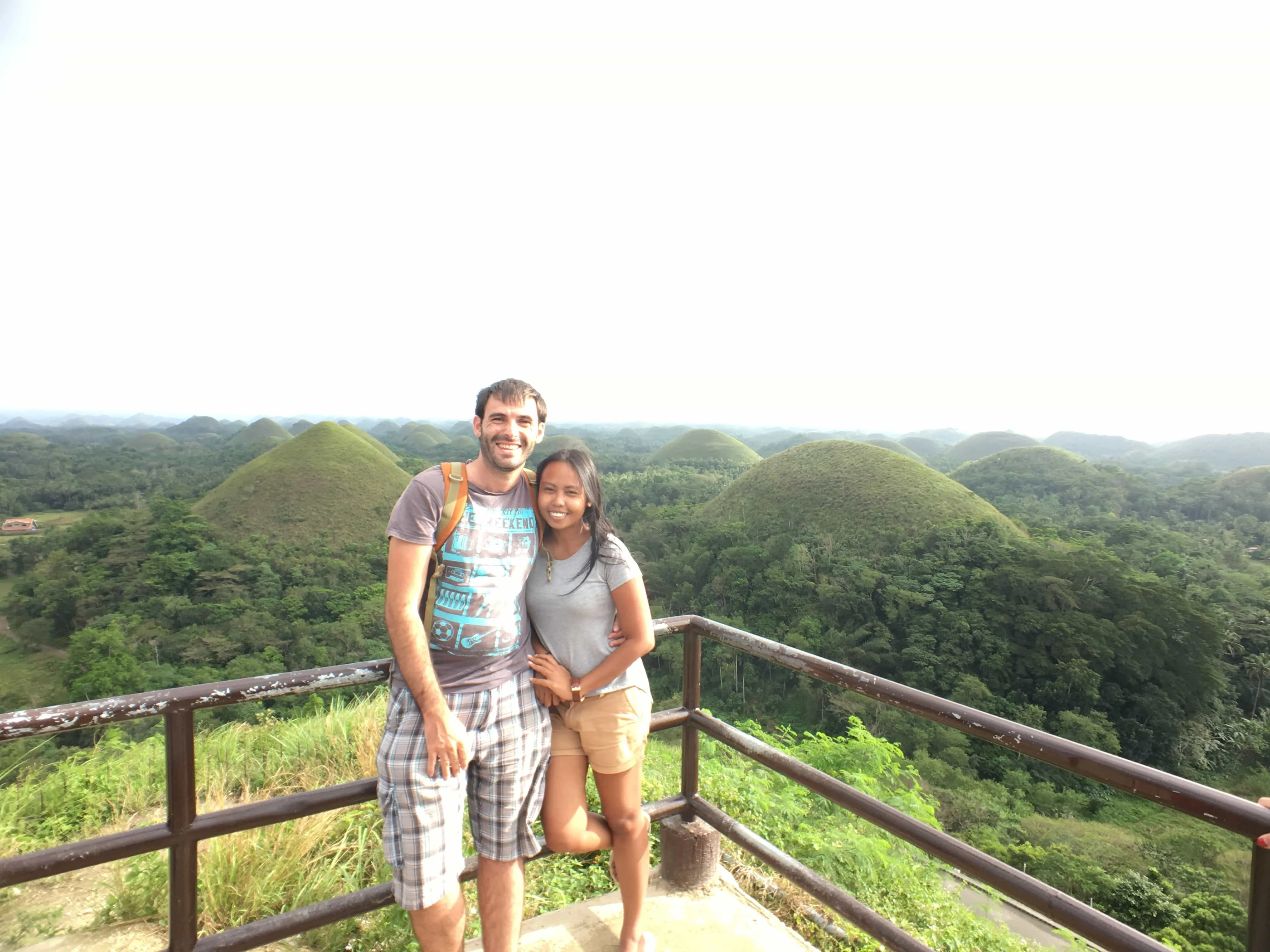 how to go to bohol chocolate hills from cebu