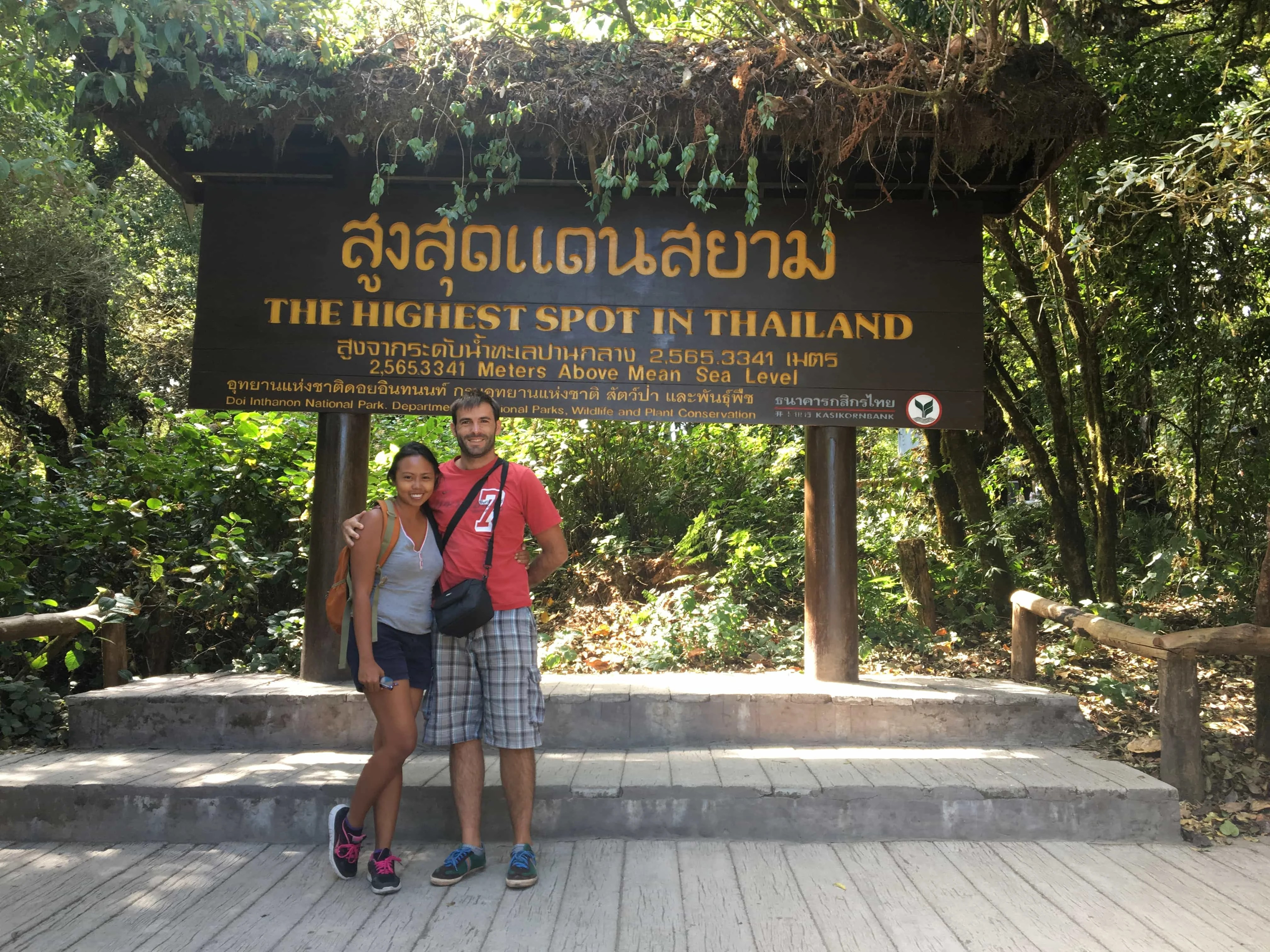 The highest point in Chiang Mai