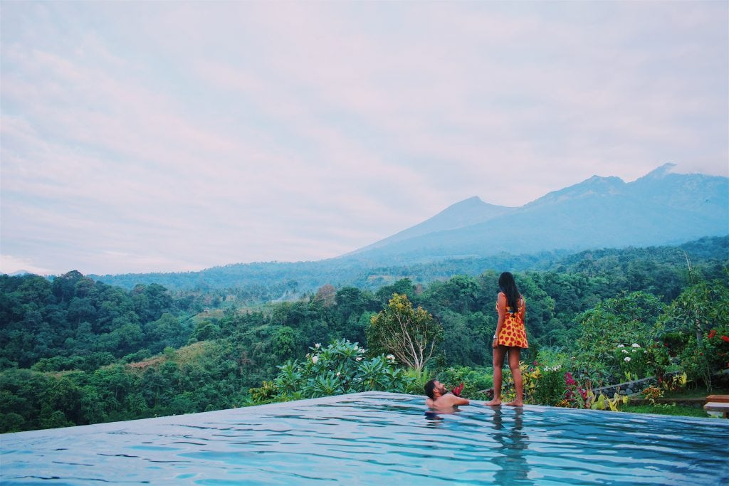 After climbing Mount Rinjani, stay at Rinjani Lodge