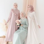 15 Model Baju Gamis Sifon