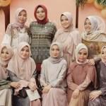 20 Padu Padan Busana Muslim Warna Pastel