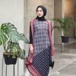 24 Model Baju Kerja Wanita Motif Batik