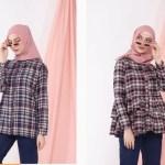 25 Model Kemeja Lengan Panjang untuk Wanita Berhijab