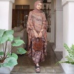14 Model Rok Batik Panjang