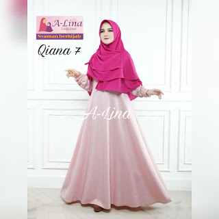 Gamis A_lina Collection Hijab