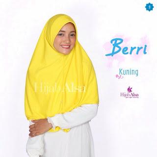 Hijab Alsa Berri Kuning