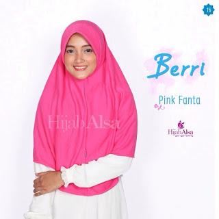 Hijab Alsa Berri Pink Fanta