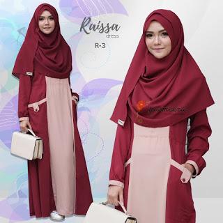 Gamis Yasmeera Raisa Dress R-3