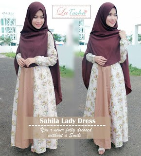 Gamis Latasha Sahila Lady Dress