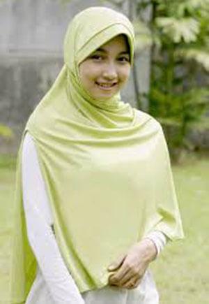 jilbab instan untuk kegiatan sehari-hari