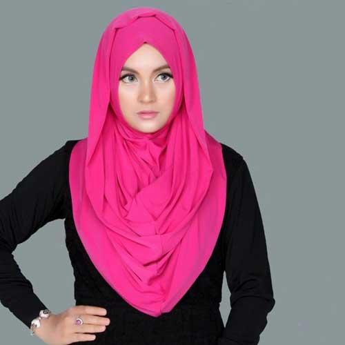 contoh jilbab syar'i model hana