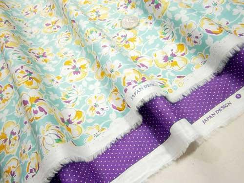 contoh bahan kain katun jepang