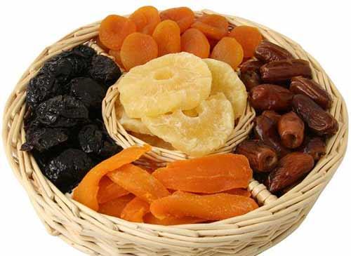 buah kering penyebab keputihan