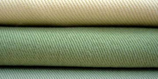 Contoh bahan katun twill atau katun cina untuk celana chinos