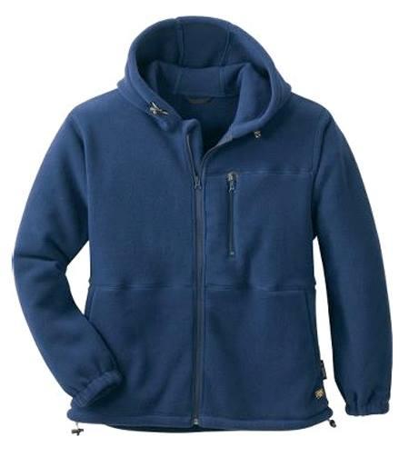 contoh jaket dari bahan fleece