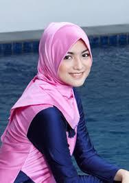contoh jilbab bergo untuk renang