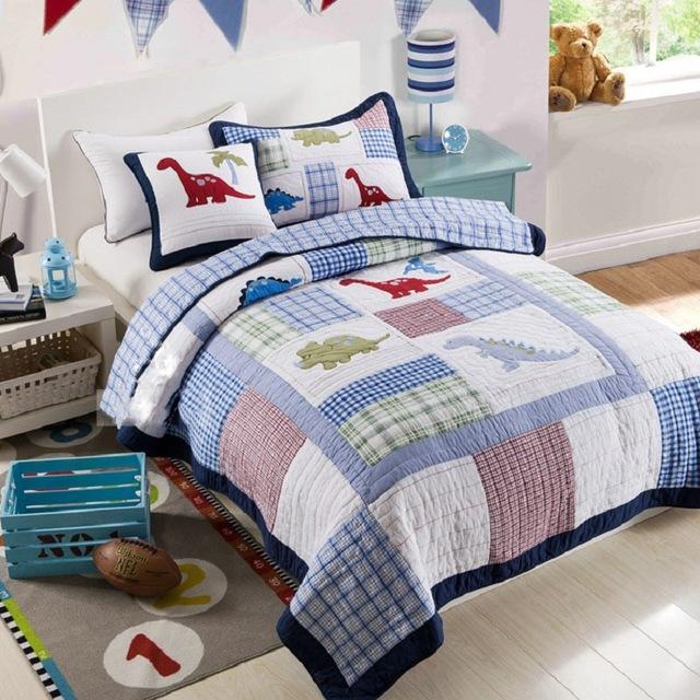 hasil quilt patchwork untuk kasur anak