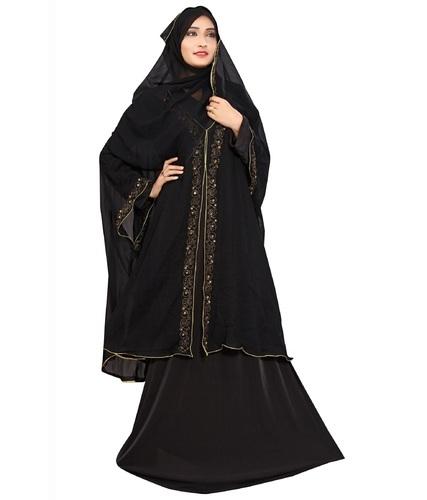 contoh busana abaya arab