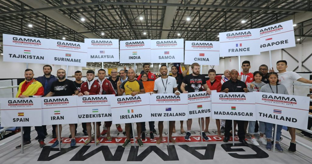 Global Association of Mixed Martial Arts (GAMMA) Adds 25 New Member Federations, Now Has Support in 80 Countries