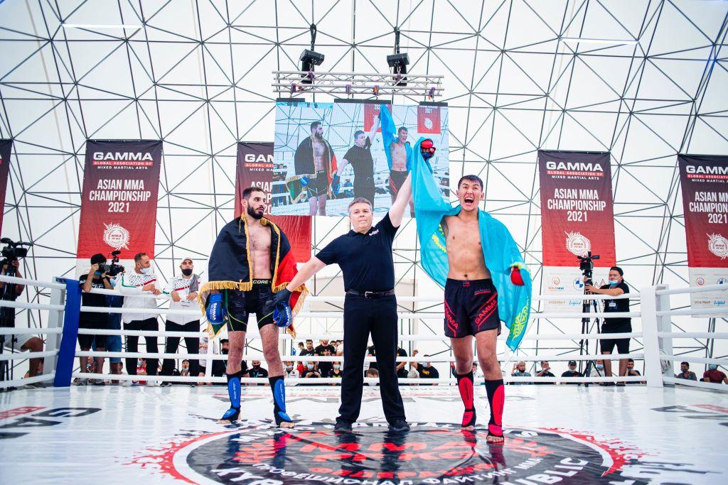 Kazakhstan Reigns Supreme At GAMMA Asian MMA Championship 2021