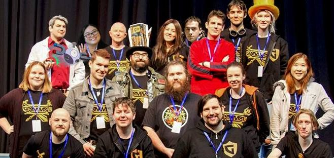 Photo of the 2016 GAMMCON Committee