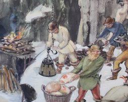 Skolplansch | Bergsbruk under 1500-talet