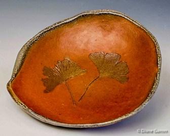 Red Gingko Platter