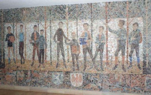 Mosaik von Hans Prünster