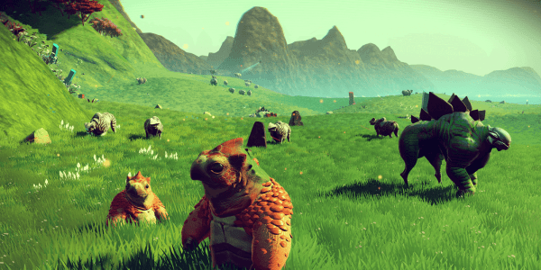 No Man's Sky's latest updates have increased diversity on the planets