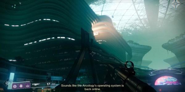 Destiny 2 Arcology Action