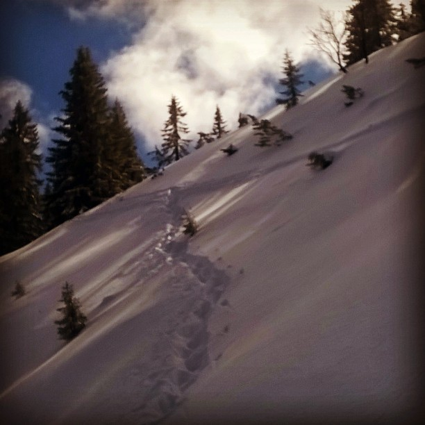 #alpen #wank #trekking #offtrack #fun