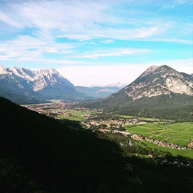 Instagramnews... #alpen #zugspitze #kramer #estergebirge